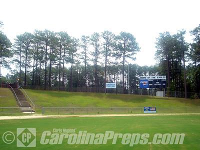 Bob Paroli Stadium, Home of the Douglas Byrd Eagles.  Fayetteville, NC.  Photo Credit: Chris Hughes 7/17/2007