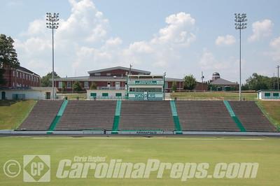 A.L. Brown High School.  - Kannapolis Memorial Stadium