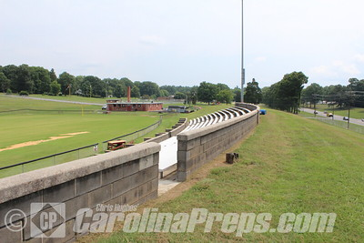 Panther Stadium - Home of the J.M. Morehead Panthers - Eden, N.C.   Photo Credit: Chris Hughes 7/28/2015