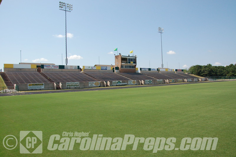 Raider Stadium - Home of the Richmond Raiders, Rockingham, N.C. <br /> <br /> Photo Credit: Chris Hughes 8/12/2013