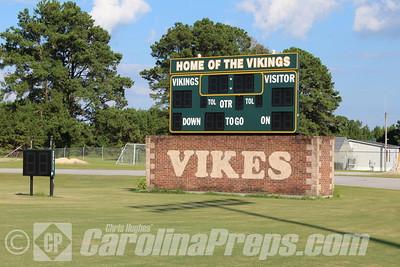 White Oak High School - Viking Stadium, Jacksonville, N.C.  Photo Credit: Chris Hughes 7/25/2015