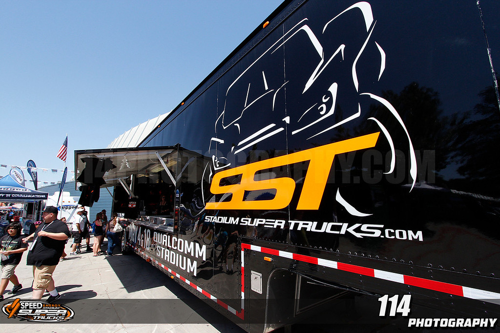 Don't forget to get your Stadium Super Trucks apparel  at the SST Souvenir Hauler at the OffRoad ExpoÉ. at Los Angeles Memorial Coliseum in Los Angeles, California on April 27, 2013.Chris Anderson/114photography