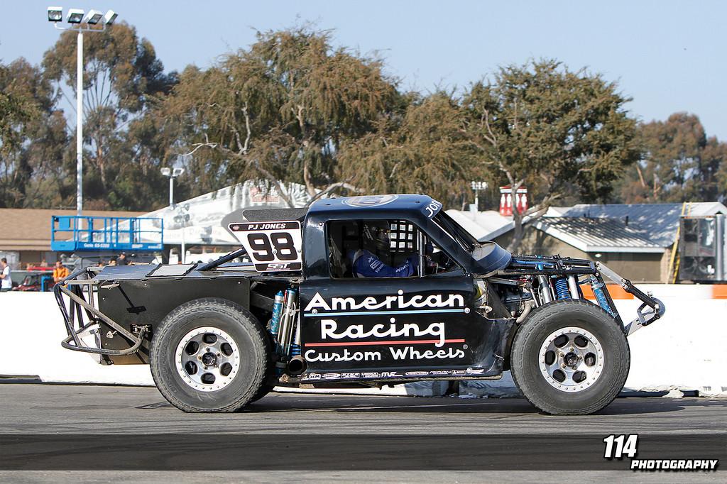 Stadium Super Trucks Round 12 at Orange County Fairgrounds in Costa Mesa, California on September 21, 2013. Photo: Chris Anderson/114photography