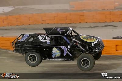 Sheldon Creed finishes 2nd at Stadium Super Trucks Round 5 at Qualcomm Stadium in San Diego, California on May 18, 2013. Mandatory Photo Credit: Chris Anderson/114photography