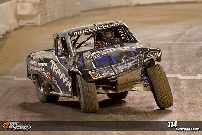 Rob MacCachren finished 3rd at Stadium Super Trucks Round 5 at Qualcomm Stadium in San Diego, California on May 18, 2013. Mandatory Photo Credit: Chris Anderson/114photography