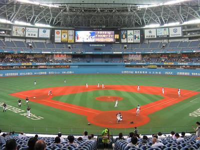 Osaka Dome - field