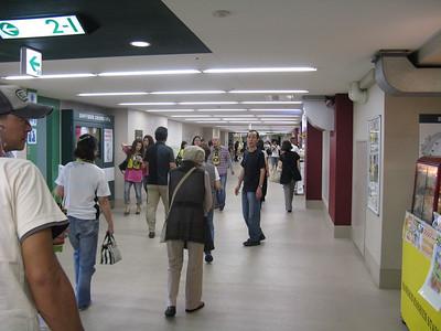 Hanshin Koshien Stadium - concourse