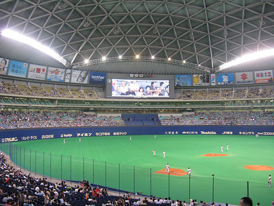 Nagoya Dome - outfield