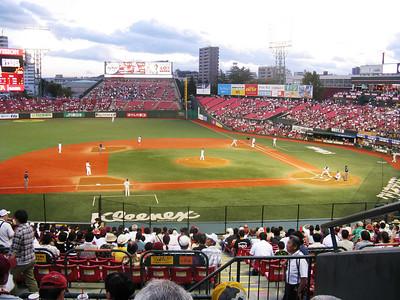 Kleenex Miyagi Stadium - infield