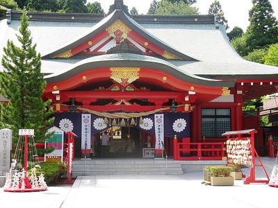 Sendai Castle - temple