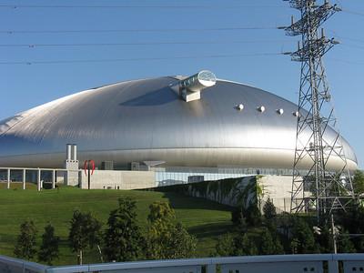 Sapporo Dome - outside