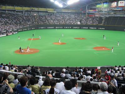 Sapporo Dome - field
