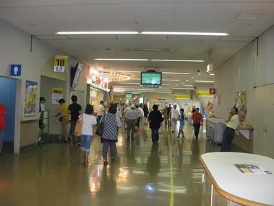 Fukuoka Yahoo Dome - concourse