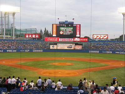 Jingu Stadium - field
