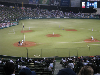 Seibu Dome  - infield