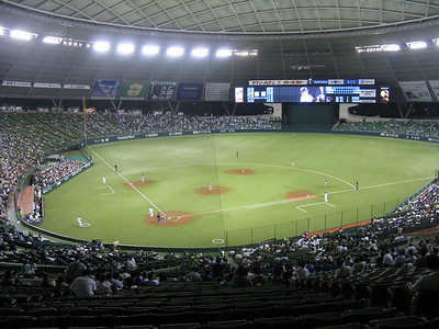 Seibu Dome - field