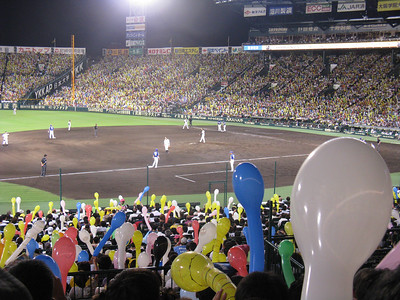 Hanshin Koshien Stadium - all dirt field