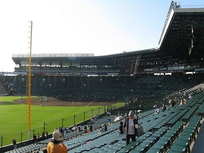 Hanshin Koshien Stadium - seating area