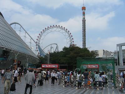 Tokyo Dome - outside