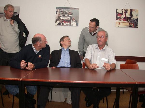 Hochwasser 13. August 2002 – Pressekonferenz in Ybbs