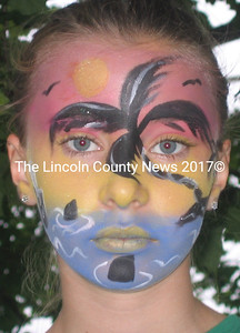 Special face painting by Fletcher Face Art is fun for any fundraising event, any time of year. (Kim Fletcher photo)