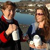 Mary Bowers, the Superintendent of the Great Salt Bay Sanitary District and Leanna Hitchins, wastewater division manager, want to urge everyone to turn in unused medications so they don't wind up in the water supply. (Joe Gelarden photo)