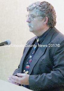 School Union 132 Superintendant Frank Boynton will start his position as superintendent of MSAD 40 July 1. (J Maguire photo)