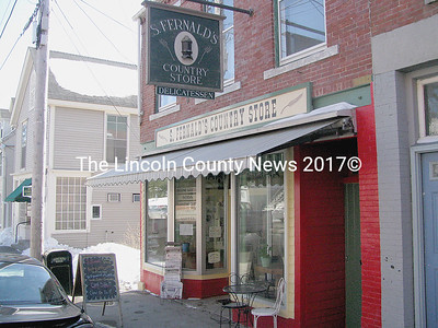 S. Fernald's Country Store on Friendship St. in Waldoboro opened up for business again on Monday. Owner Sumner Richards returned from a 14-day trek to Guatemala and is once again making custom sandwiches and selling coffee. Brenda Taylor is selling her baked delicacies from the store until she can open up her own bakery, The Secret Garden, downstairs. (J Maguire photo)