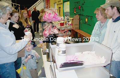 The YMCA Biggest Indoor Yard Sale offered sweets and coffee to shoppers. (Kim Fletcher photo)
