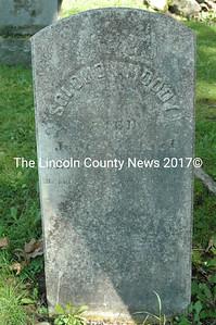 Headstone of Solomon Moody, 1817-1871.
