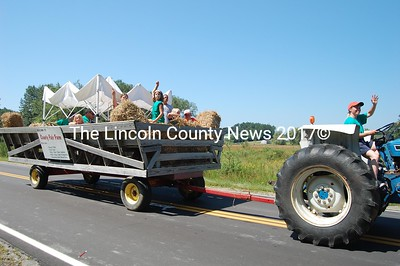 Country Fair Farm took a day off from the fields to join in on the Jefferson Day parade. (J Maguire photo)