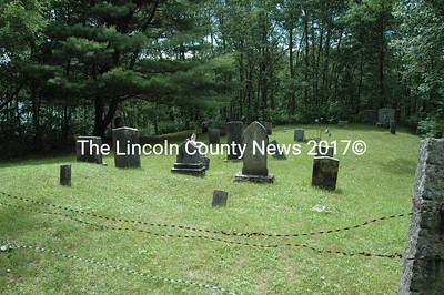 The Winslow Cemetery, GR-12, overlooks Pemaquid Pond in Nobleboro. Burials date from the 1800s and 1900s.