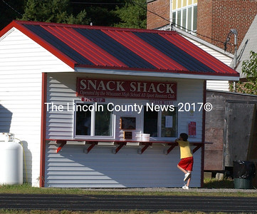 The Wiscasset Snack Shack is open once again for business at Wiscasset home games.