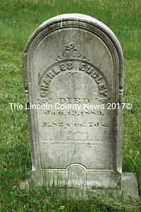 Headstone of Charles Eugley who died Jan. 19, 1889, a week after his 82nd birthday.