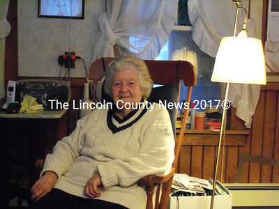 Imelda Yorkus, 82, sits in her Whitefield home. Yorkus was charged with carrying a concealed weapon without a permit after she accidently tried to bring her handgun into the Edmund S. Muskie Federal Building in Augusta on Jan. 5. (Alex Toy photo)