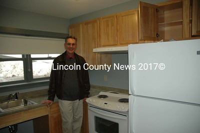 David Lawlor, the executive director of Mobius, Inc., the largest provider for services for developmental disabled consumers shows off the new five apartment unit scheduled to open soon.(Joe Gelarden photo)
