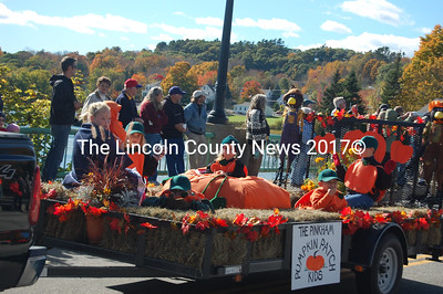 The Pinkham Pumpkin Patch Kids during the parade. (J.W. Oliver photo)