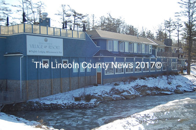 The Sheepscott Harbour Village & Resort in Edgecomb sold at auction to Maine Savings Bank for $7.5 million on Jan. 29. The bank was the only registered bidder. (Alex Toy photo)