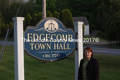Jessica Chubbuck is running uncontested for the Edgecomb Board of Selectmen (J.W. Oliver Photo)