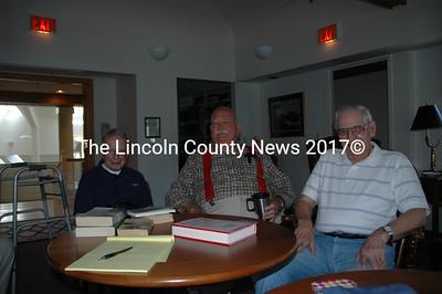 WWII Veterans Dick Baldwin, 91, Joe Gray, 86, and Pete Coffin, 88. (Joe Gelarden photo)