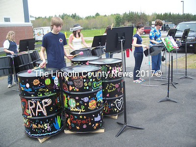 The steel pan band Pantastics performed for the crowd. (K. Fletcher photo)