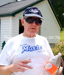 Bob Hazard of Philedelphia has been coming to Maine for Moxie Fest for more than 20 years. He's described as one of the most active members of the Moxie Congress, and he doesn't even drink the stuff. (Alex Toy photo)