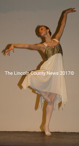 The graceful and beautiful Elizabeth Seibel performs in Midcoast Dance Studio's spring production. (Paula Roberts photo)