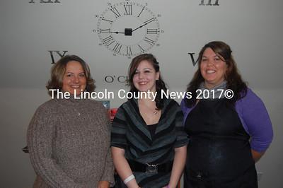 Studio 18 owner Jane Oliver-Gravel (left) with stylists Christine O'Donnell (center) and Natasha Neal. (J.W. Oliver photo)