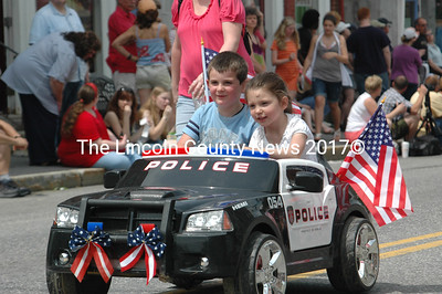 What could possibly be more fun than piloting a miniature police car in the Twin Villages Memorial Day parade?