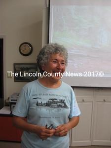 Juanita Roushdy, of Friends of Hog Island. (Nancy Wilson photo)