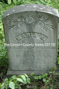 Maria H. (Merrill) Chapman is buried near her parents, Adoniram and Hannah Merrill, and her young daughter, Mary A. Chapman.