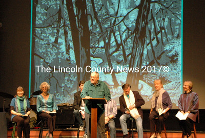 """The River Company reads from Charles Waterman's book """"Watermarks."""""""