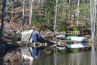 Landowner Pierre Girard must respond within two weeks to concerns that he removed trees and buildings, did road work and began construction of a new building without seeking proper permits from the town of Jefferson and the Dept. of Environmental Protection. (Paula Roberst photo)