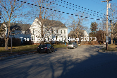 Damariscotta officials say police will be monitoring the one-way stretch of Hodgdon Street between Church and Pleasant streets after hearing concerns from neighborhood residents about drivers going the wrong way. (J.W. Oliver photo)